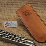 Butterfly knife sheath clip 2