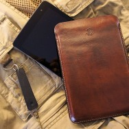 Leather Tablet Sleeve (Dragon Smoke)