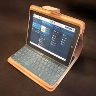 iPad with Keyboard Play Through Case (Dragon Smoke)