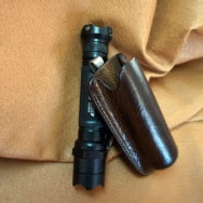 Tactical Flashlight Pocket Case